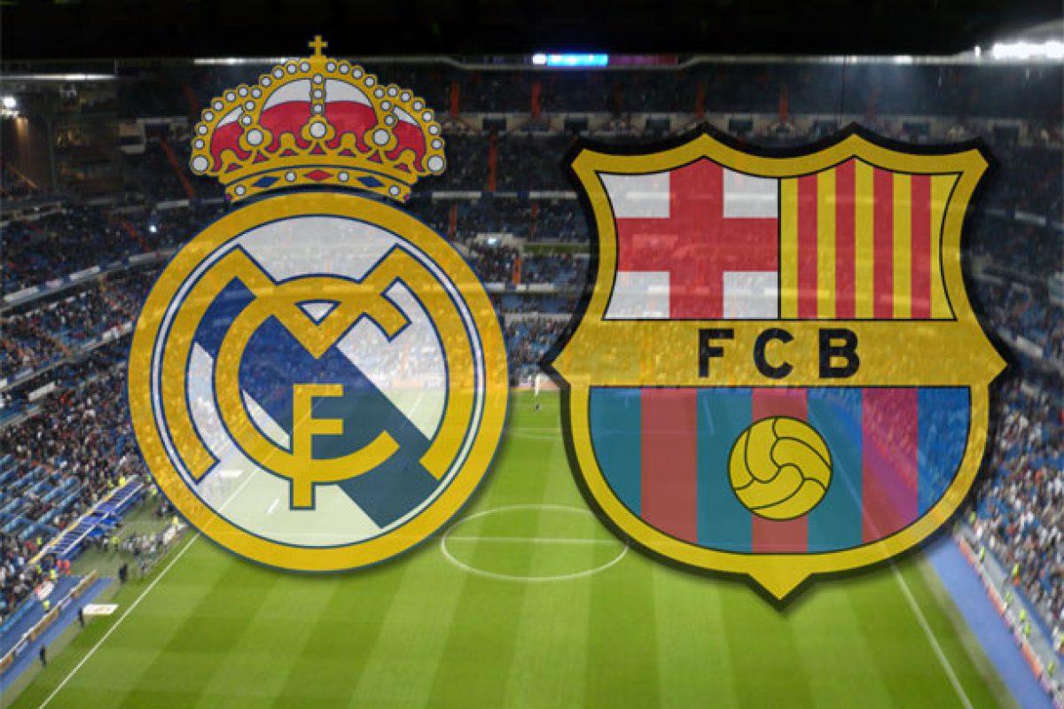 A una semana del clásico Real Madrid vs. Barcelona