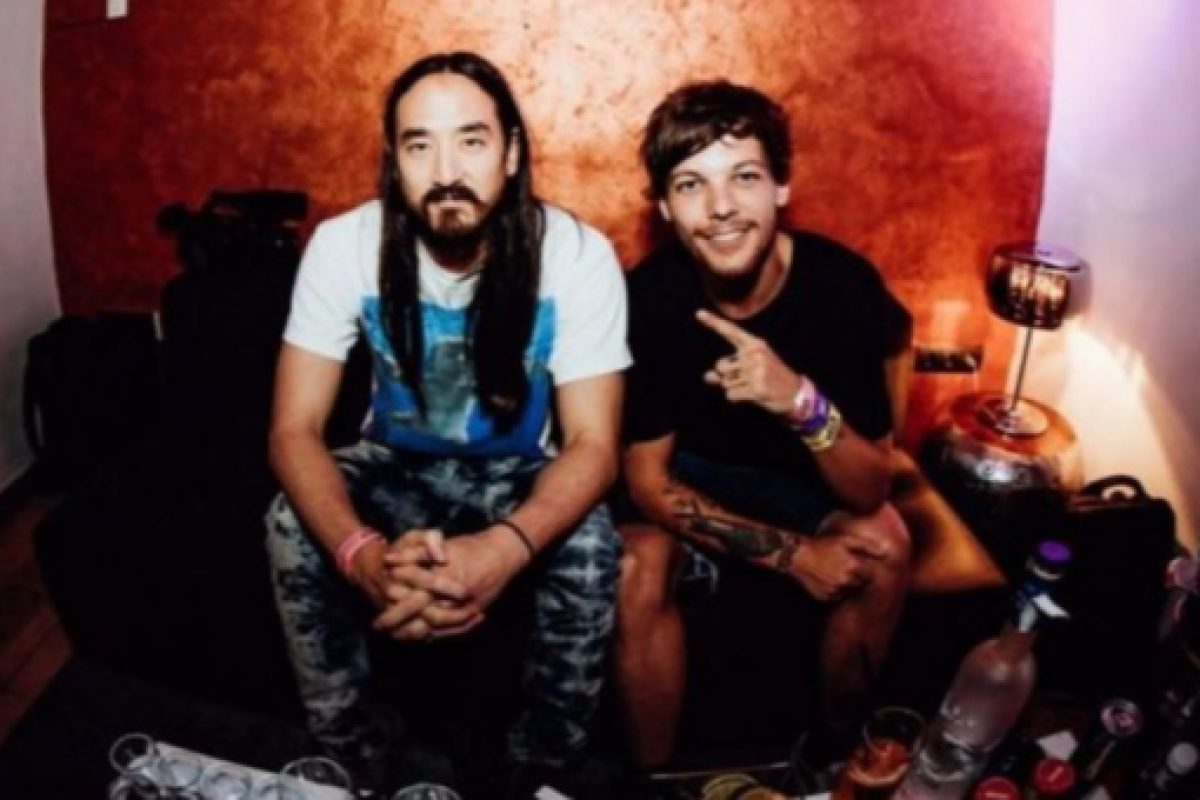 "Steve Aoki y Louis Tomlinson lanzan ""Just hold on"""