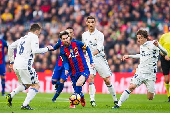 Messi en el último clásico español