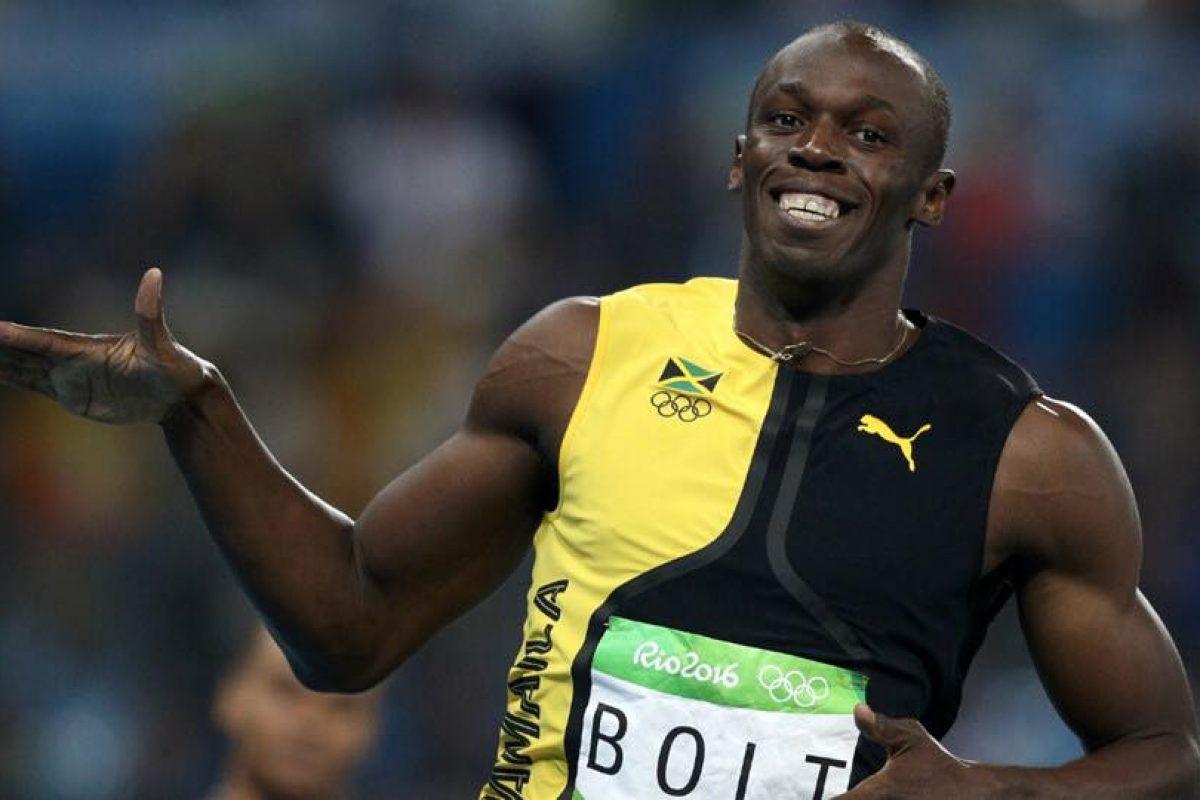¿Te imaginas a Usain Bolt como delantero de un club de fútbol?