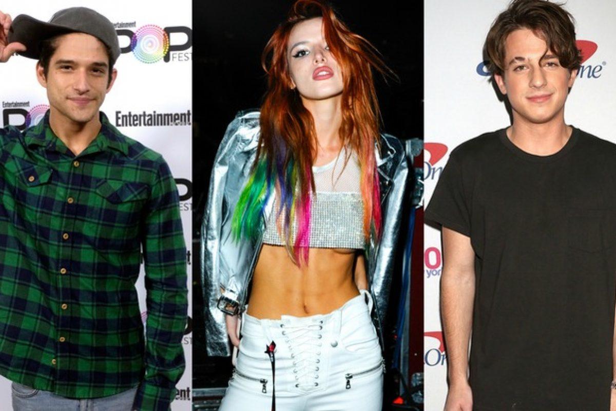 """Bella Thorne le responde a Charlie Puth tras ser acusada de serle """"infiel"""" a Tyler Posey"""