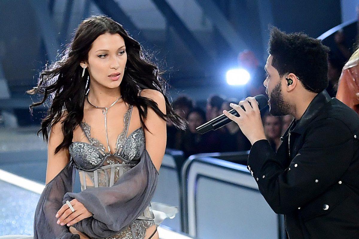 El encuentro de Bella Hadid y su ex novio The Weeknd en la pasarela del Victoria's Secret Fashion Show
