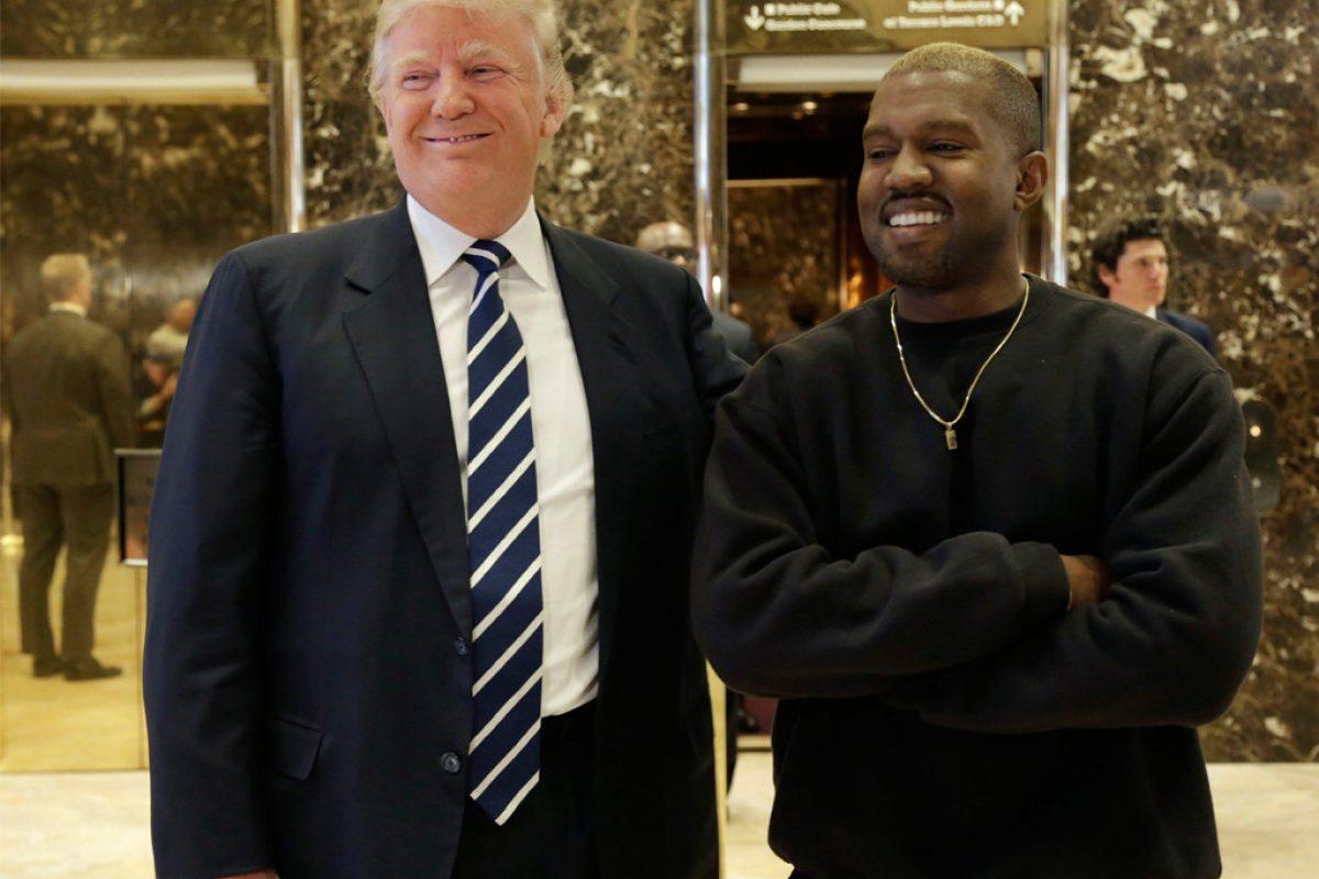 Kanye West se reúne con Donald Trump