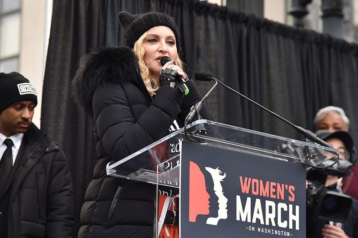 Madonna defiende el discurso anti-trump que dió en la marcha de las mujeres