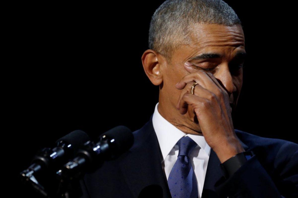 Así fue el último discurso de Barack Obama: