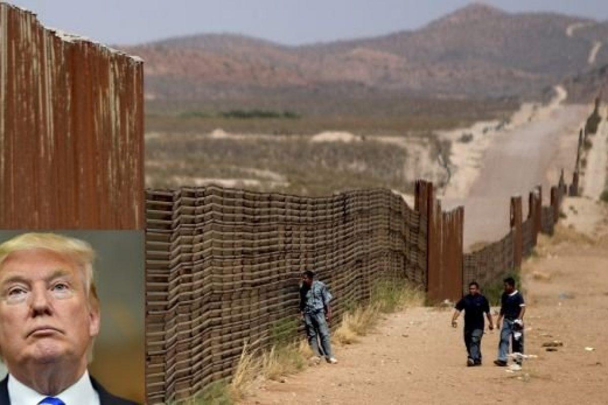 """""""Buena suerte con el muro"""""""