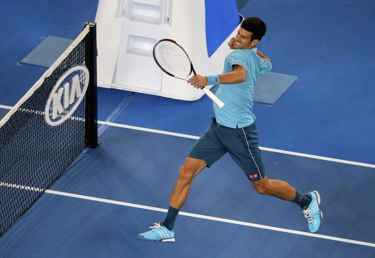 Novak Djokovic estuvo dominante ante el español.