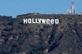 Alguien cambió el letrero de Hollywood y la imagen recorrió el mundo