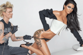 Kendall Jenner y un tatuaje para una sexy producción