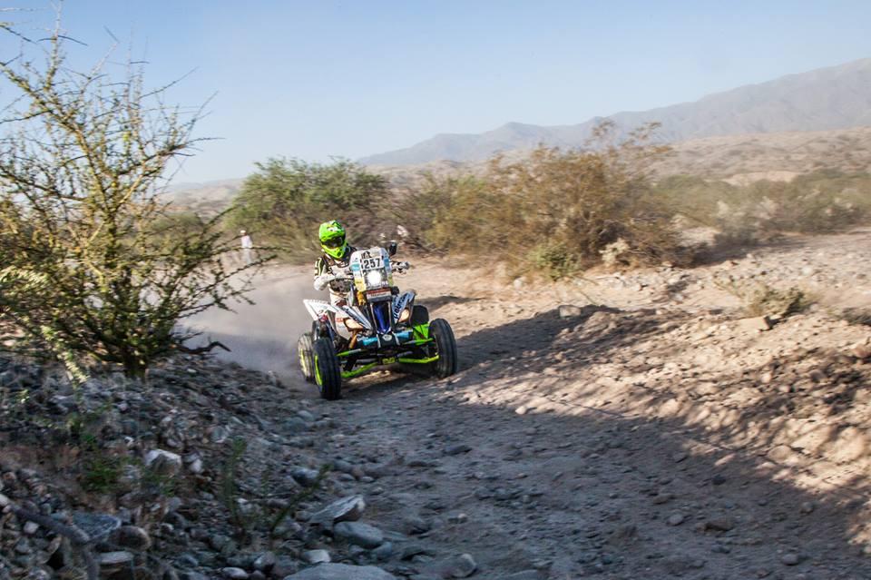 Dakar 2017. Nelson Sanabria en el rally mas duro del planeta.