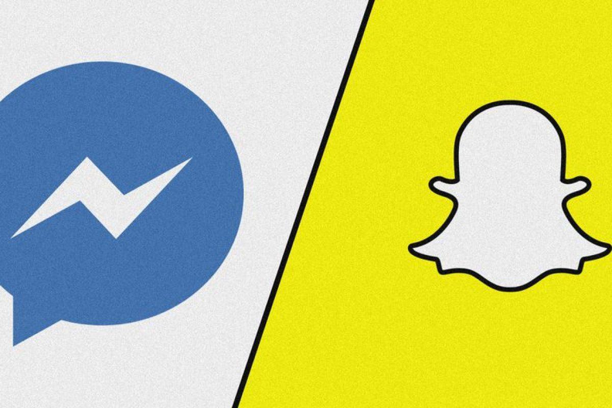 Facebook copia y le pisa los talones a Snapchat