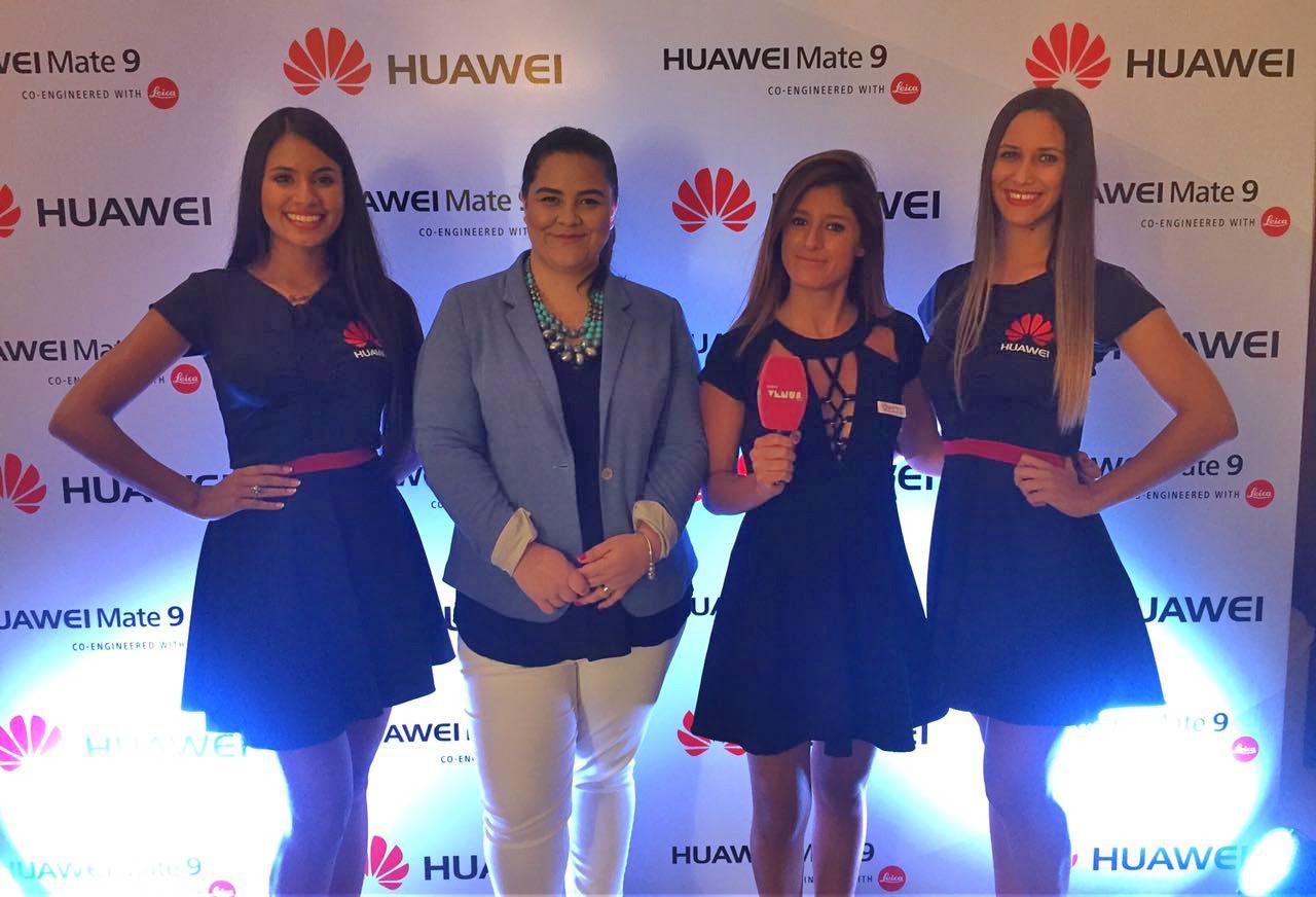 Jazmin Nuñez Gte. de Mkt. de Huawei Paraguay. Lanzamiento Mate 9.