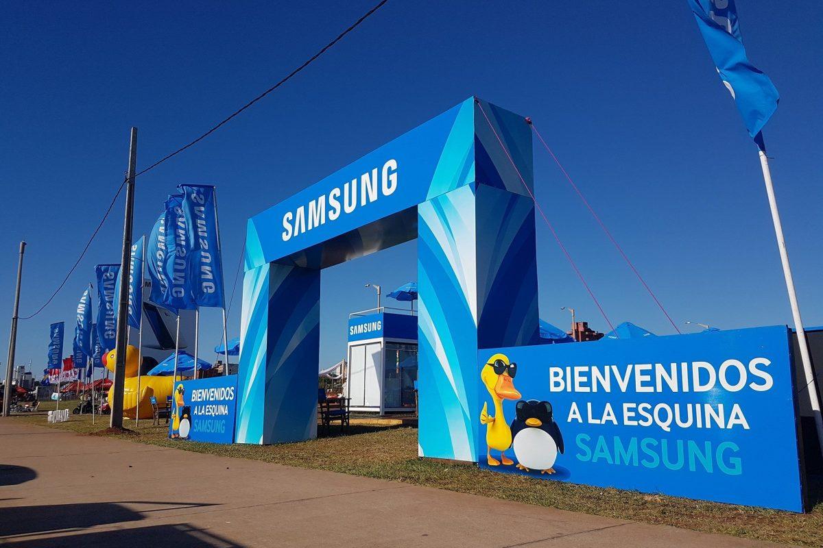 """Verano 2017 """"La esquina Samsung"""" la mas cool de Encarnación"""