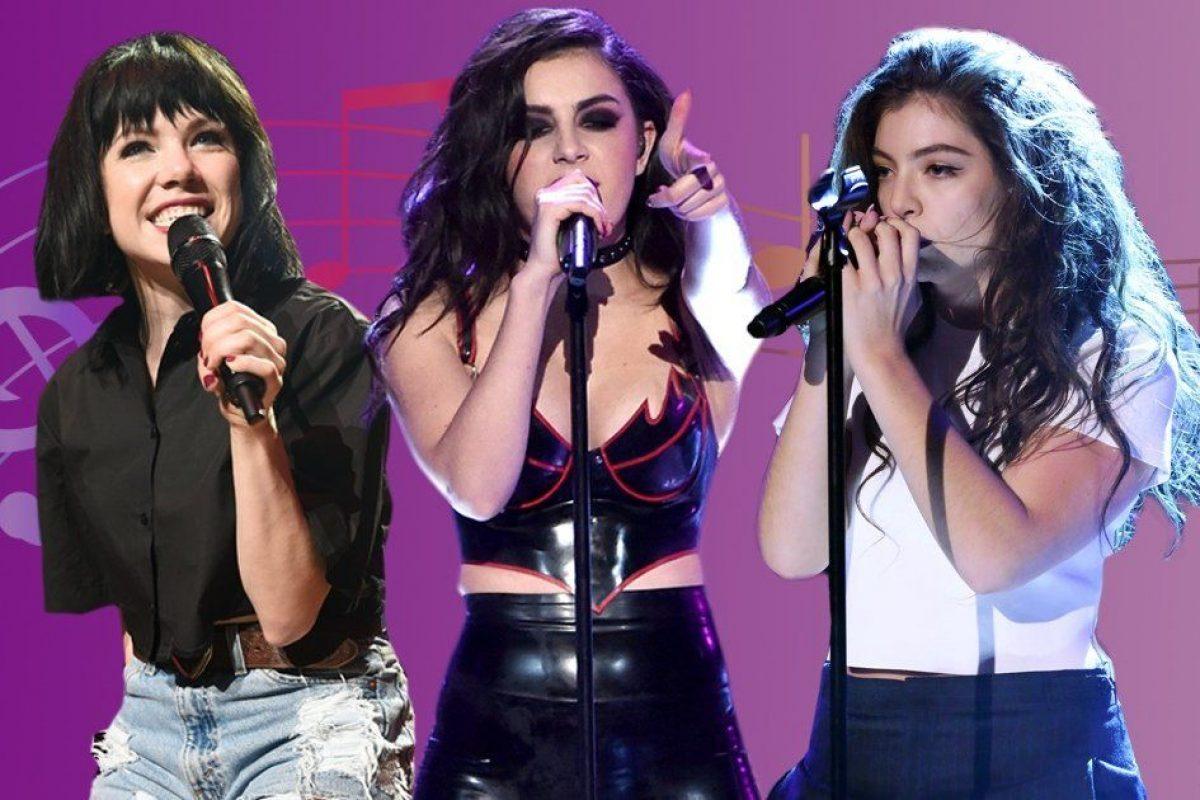 Lorde quiere armar una banda de chicas con Charli XCX y Carly Rae Jepsen
