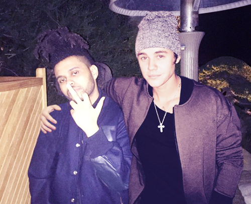 biebs and the weeknd
