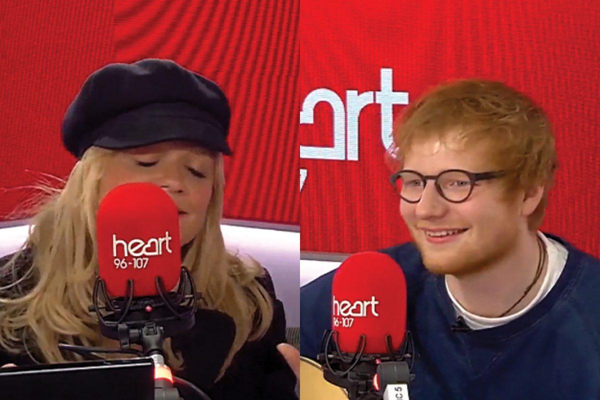 Ed Sheeran demostró poder ser una Spice Girl más