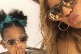 Beyoncé y Blue Ivy cada vez más parecidas