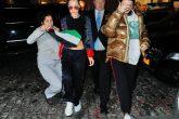 Una mujer fue arrestada luego de flamear una bandera palestina en la cara de Bella Hadid