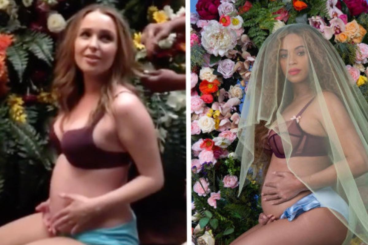 """Las estrellas de """"Grey's Anatomy"""" recrearon la sesión de fotos del embarazo de Beyoncé"""