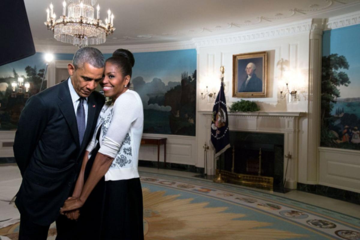 Los Obama se dedican dulces mensajes por San Valentín