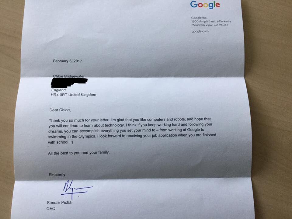 Carta de nenita