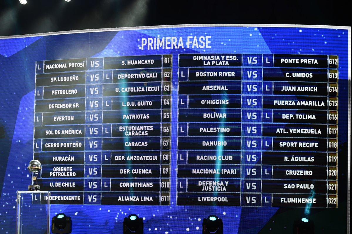 Copa Sudamericana fixture