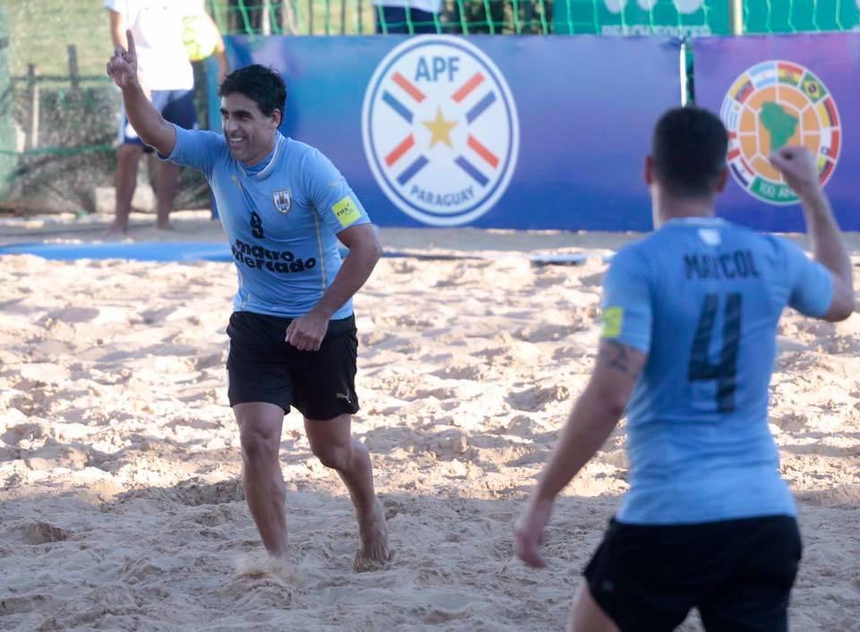 Futbol de playa Uruguay