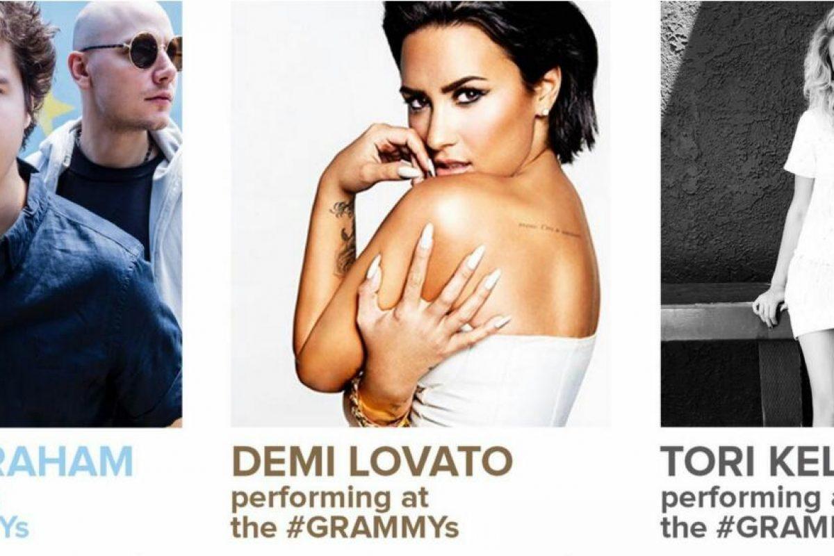 Demi Lovato, Lukas Graham y Kelsea Ballerini se presentarán en los Grammys 2017