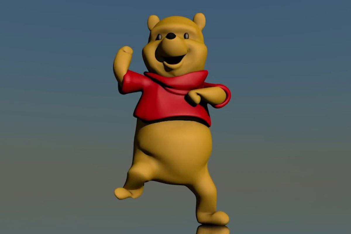 Winnie Pooh bailando es lo único que debes ver hoy en YouTube