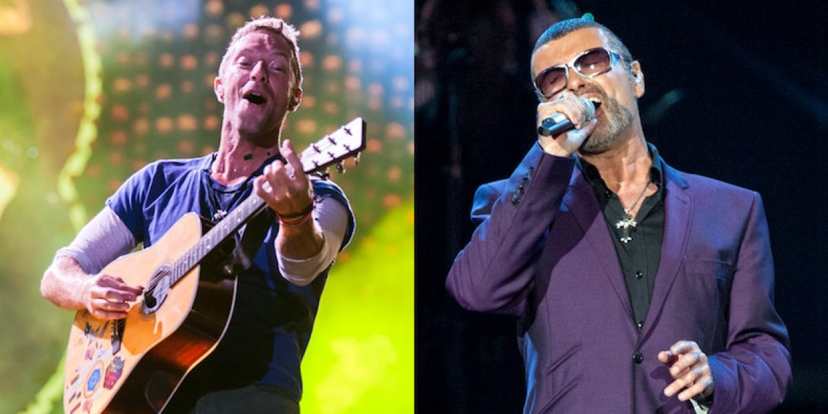 Chris Martin le rinde tributo a George Michael en los Brit Awards