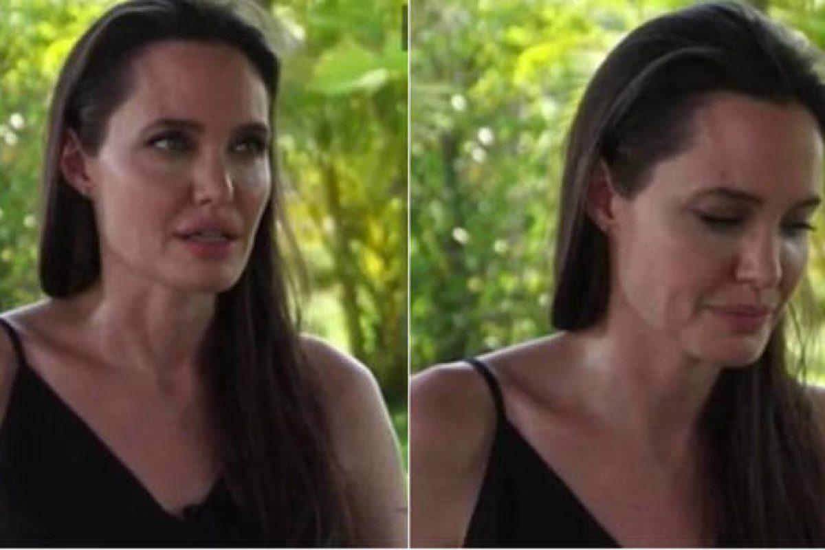 Angelina Jolie habló por primera vez de su divorcio