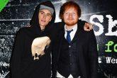 """Justin Bieber y Ed Sheeran cantan """"Love Yourself"""" en un bar de Tokyo"""