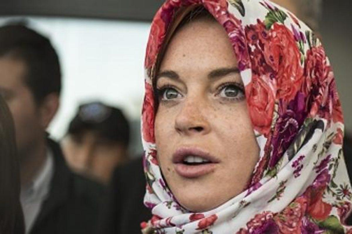 Lindsay Lohan denunció ser víctima de discriminación en un aeropuerto