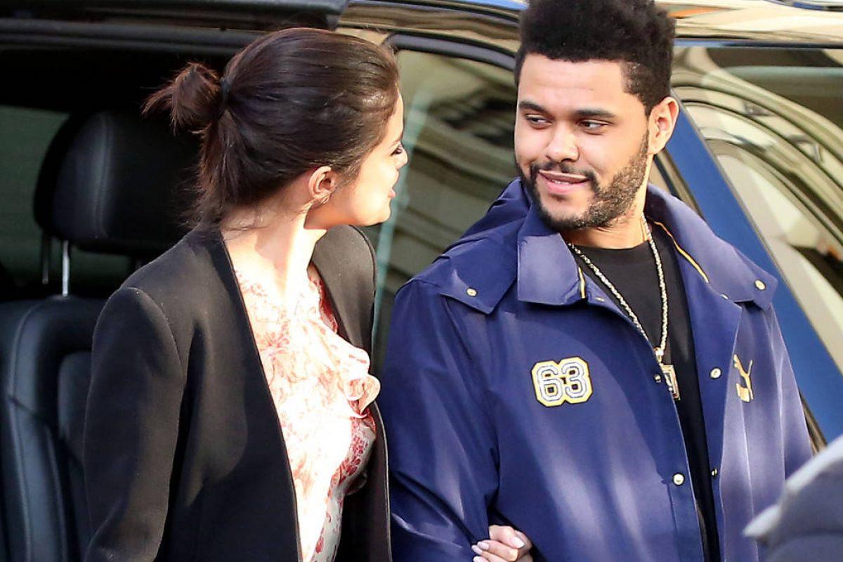 Selena Gomez asiste al concierto de The Weeknd en Amsterdam