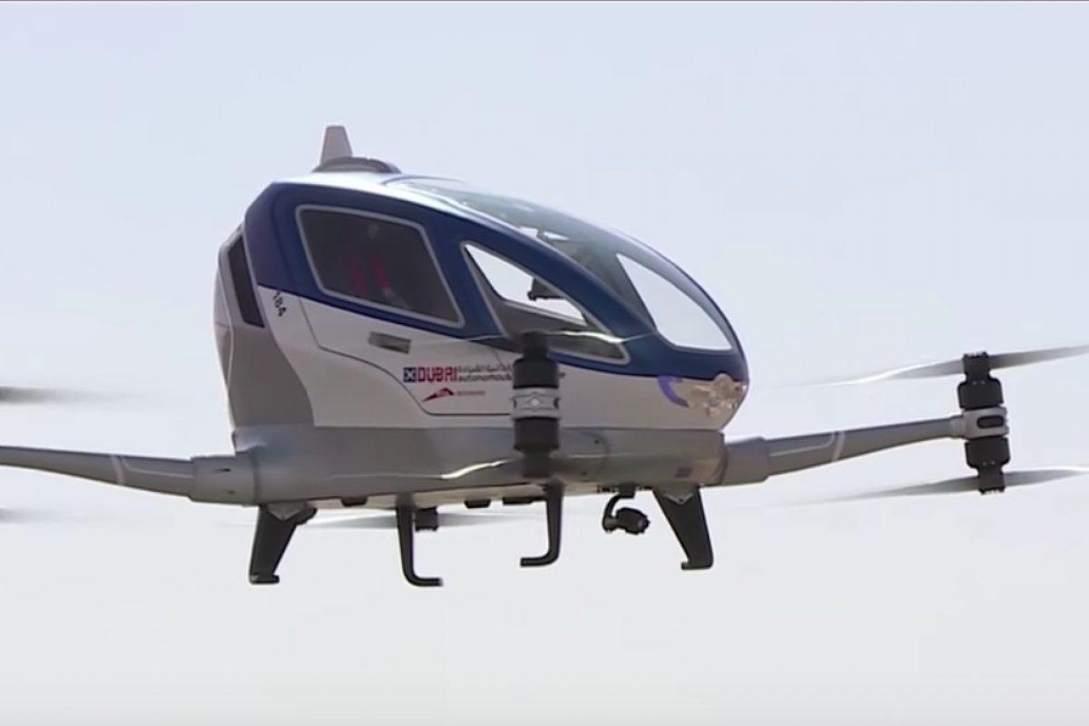 Dubái anunció que en julio tendrá un drone para pasajeros