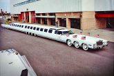 El auto más largo del mundo es actualmente chatarra