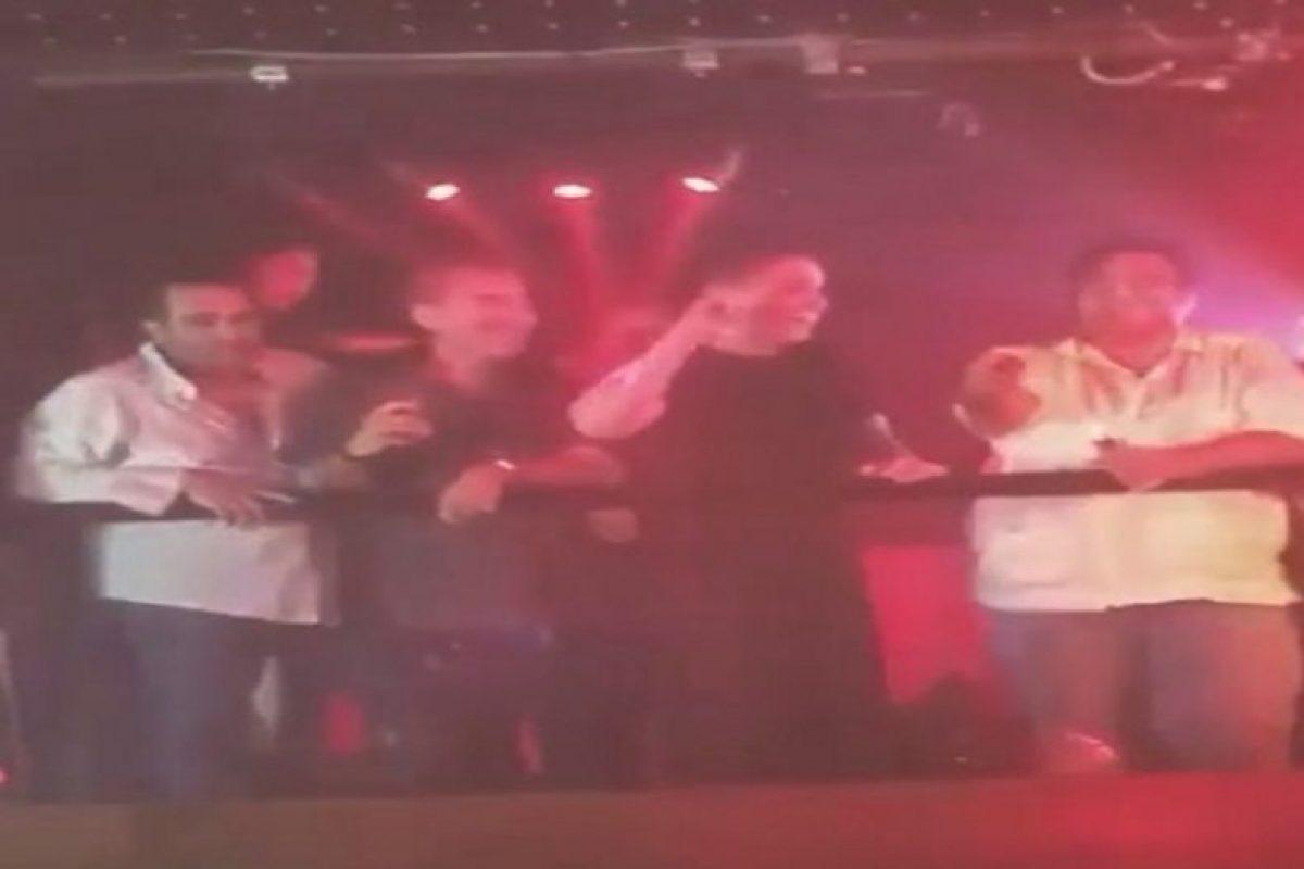 Luis Miguel bailó uno de sus hits en una discoteca de Acapulco