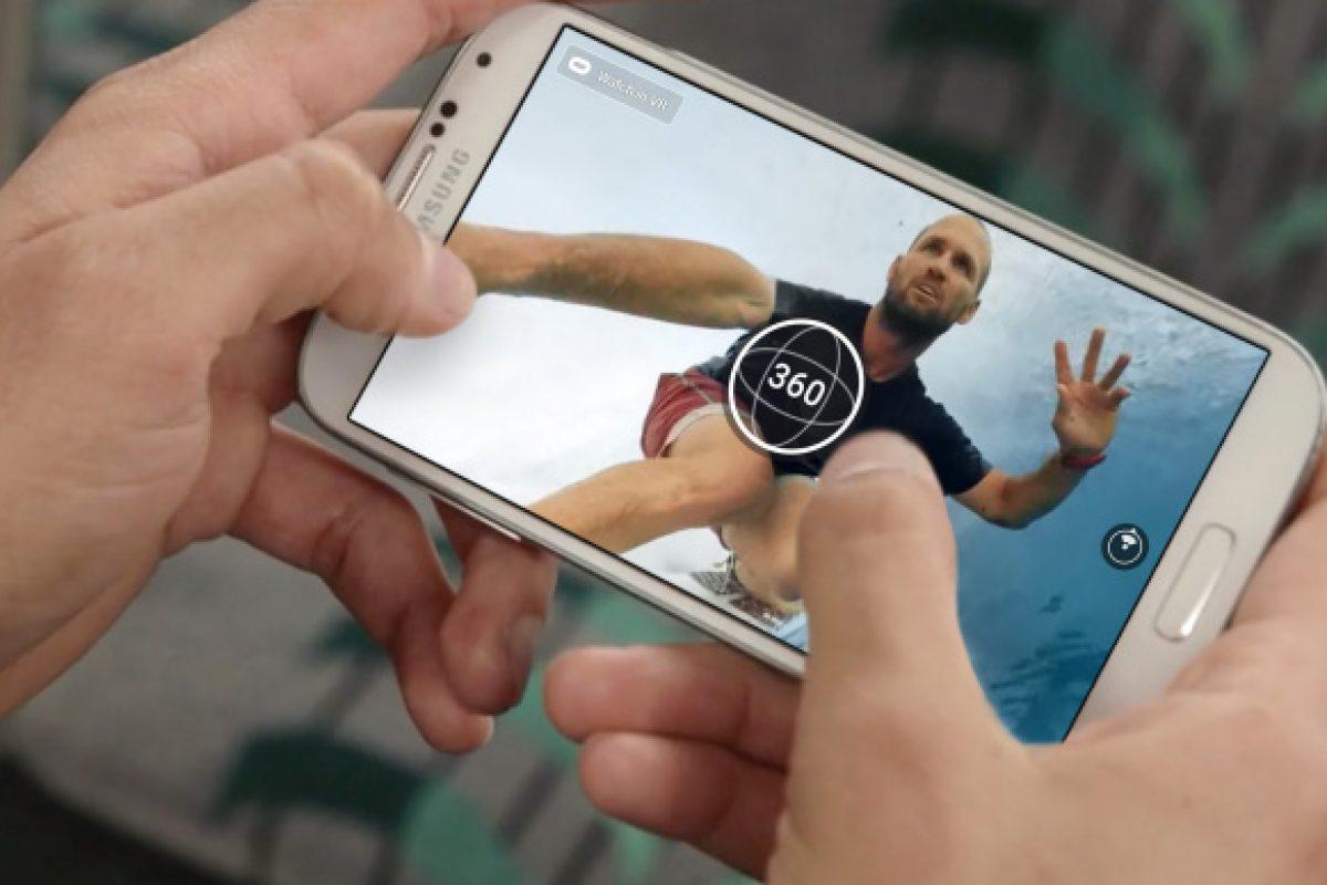 """Facebook lanzó una app """"para ver mejor"""" en 360°"""