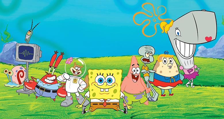 Nickelodeon_SpongeBob_SquarePants_Characters_Cast