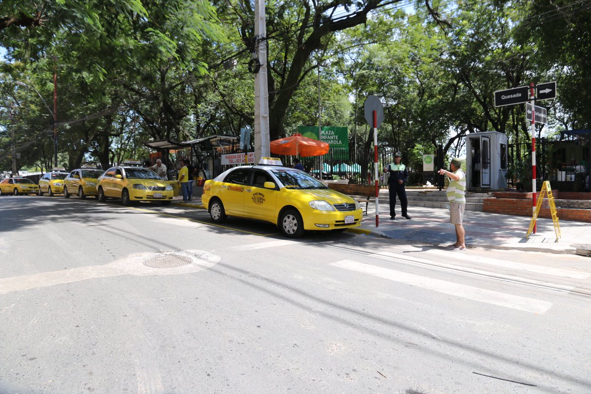 Parada de Taxis del Villa Morra
