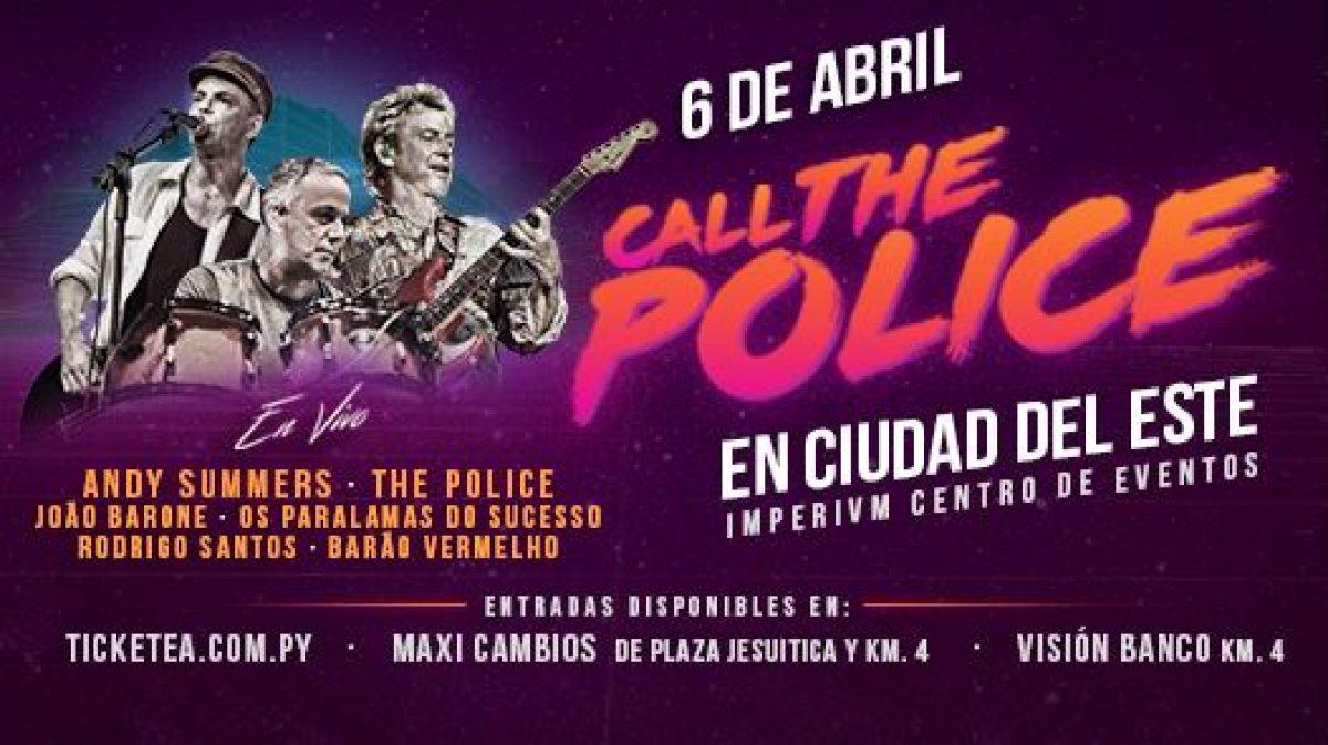 """Preparate para vibrar con los éxitos de """"The Police"""" en vivo en Paraguay"""