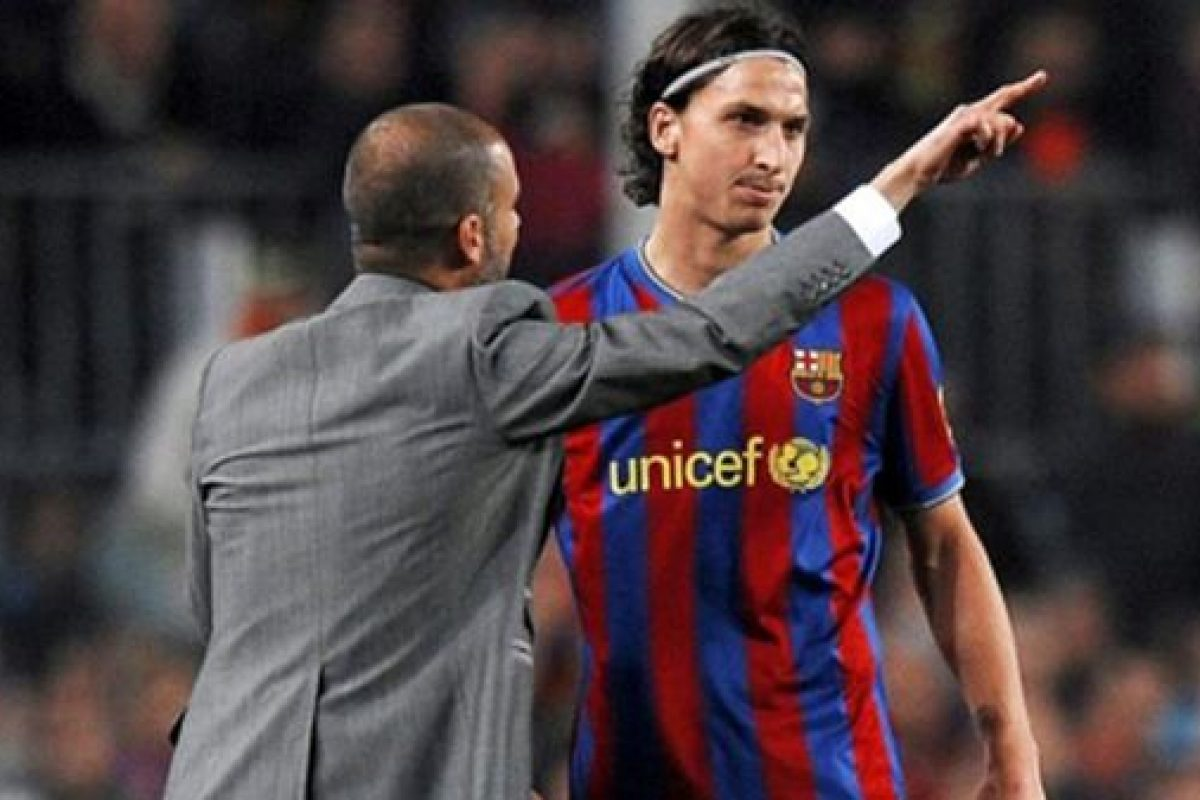 Ibrahimovic aclaró lo sucedido con Guardiola en el Barça