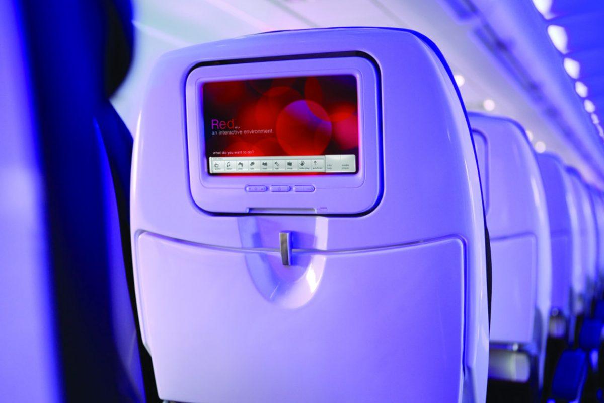 Las pantallas de los asientos en los aviones podrían desaparecer