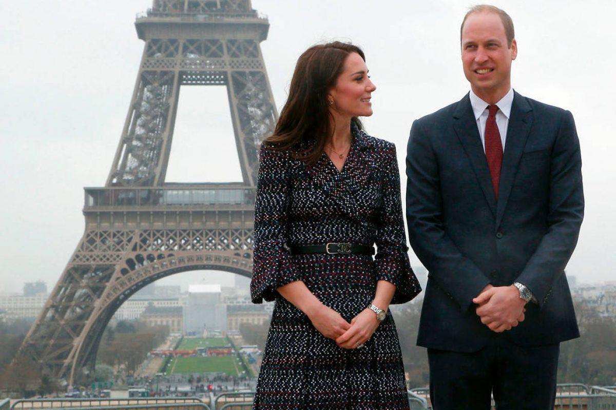 Así fue romántico viaje a París del Príncipe William y Kate Middleton