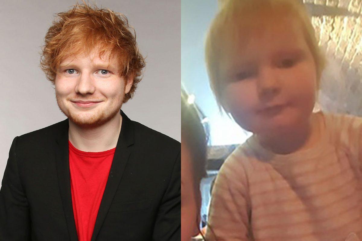 Ed Sheeran habló acerca de su clon bebé