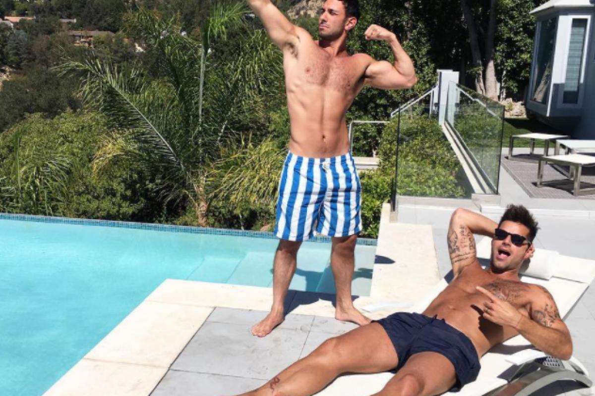Ricky Martin más enamorado que nunca de Jwan Yosef