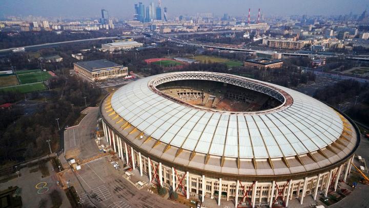 Estadio Luzhnikí, en Moscú. Foto: Mikhail Kolobaev