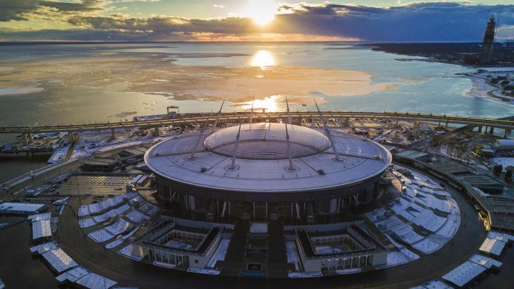 Estadio Zenit, en San Petersburgo. Foto: Ruslan Shumakov / Sputnik