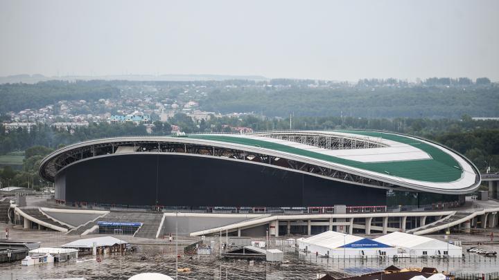 Kazán Arena en la ciudad de Kazán. Foto: Konstantin Chalabov / Sputnik