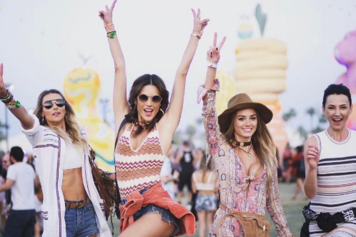Los mejores looks que se vieron en Coachella 2017